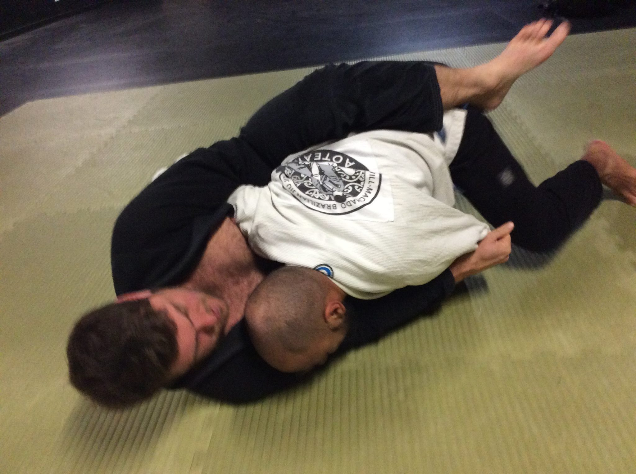 Attacks from Guard – Breaking Posture